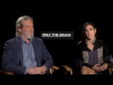 ONLY THE BRAVE Jeff Bridges &amp Jennifer Connelly Exclusive Interview