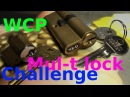 Picking 439 WCP Mul-T lock challenge - picking DAP and esp lock by VDE funny pin count estimation
