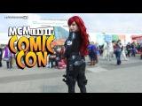 Cozplay Girl Black Widow Cosplay - MCM London Comic Con LatexFashionTV