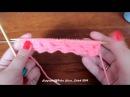Вязание спицами Узор Плетенка