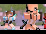 Psycho Girl 1-4 The Complete Minecraft Music Video Series - Minecraft Songs and Minecraft Animation