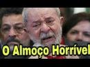 Lula é expulso aos berros de Restaurante