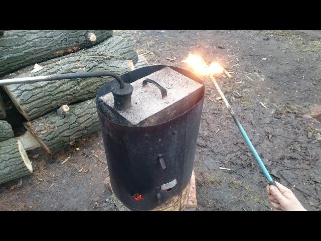 Видео Бензин из мусора в домашних условиях