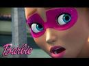 Мультики для девочек Барби СУПЕР ПРИНЦЕССА Спасение улицы Мультфильм Барби