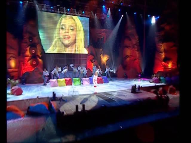 Ассоль - Танец под дождем (Шоу Звезда Ассоль. 2003)
