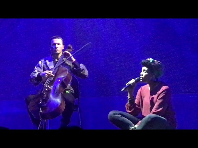 Imany - T'es Beau Shape Of A Broken Heart - ENCORE (04.12.2016 Izvestiya Hall, Moscow)