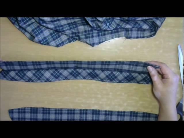 Швейная мастерская Обработка воротника в мужской рубашке