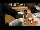 Намотка широкой фотопленки на катушки