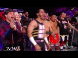 The public beating of Enzo Amore by the wrestlers WWE Raw, Sept  25, 2017