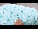 Alize Puffy ile Baklava Örneği Battaniye Yapımı-Making Diamond Knitting Technique Blanket
