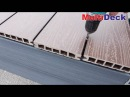 Монтаж террасной доски из ДПК MultiDeck