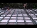 Укладка и монтаж террасной доски из ДПК своими руками Строительство террасы из