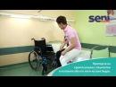 RU 05 Перемещение пациента с кровати в инвалидную коляску используя бедро опекуна