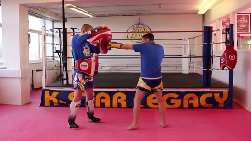 Muay Thai 5 Brutal Boxing to Elbow Drills Tutorial [Low, 480x360]