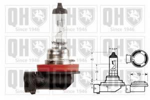 Лампа накаливания, фара дальнего света; Лампа накаливания, основная фара; Лампа накаливания, противотуманная фара; Лампа накаливания, фара с авт. системой стабилизации для BMW X3 (F25)