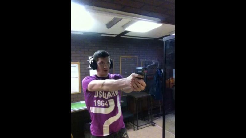 Стрельба из пистолета Оса ПБ-4
