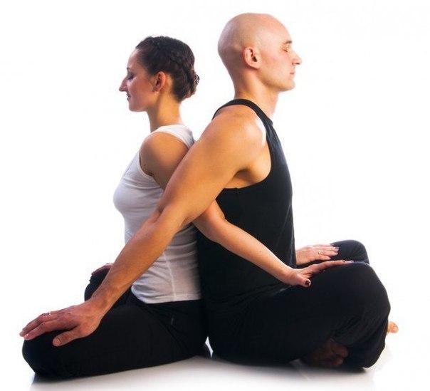 Парная йога для похудения