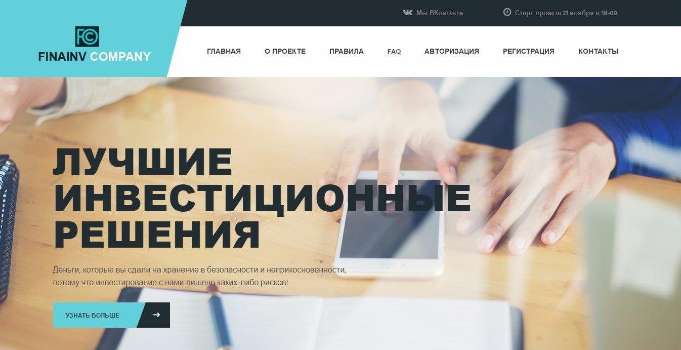 Fina Inv Company