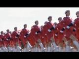 Прощание славянки Китайская версия - Марш-песня