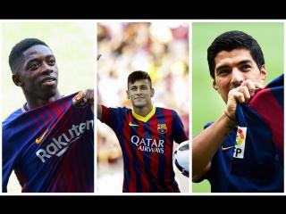"""ТОП-10 самых дорогих трансферов в истории """"Барселоны"""""""