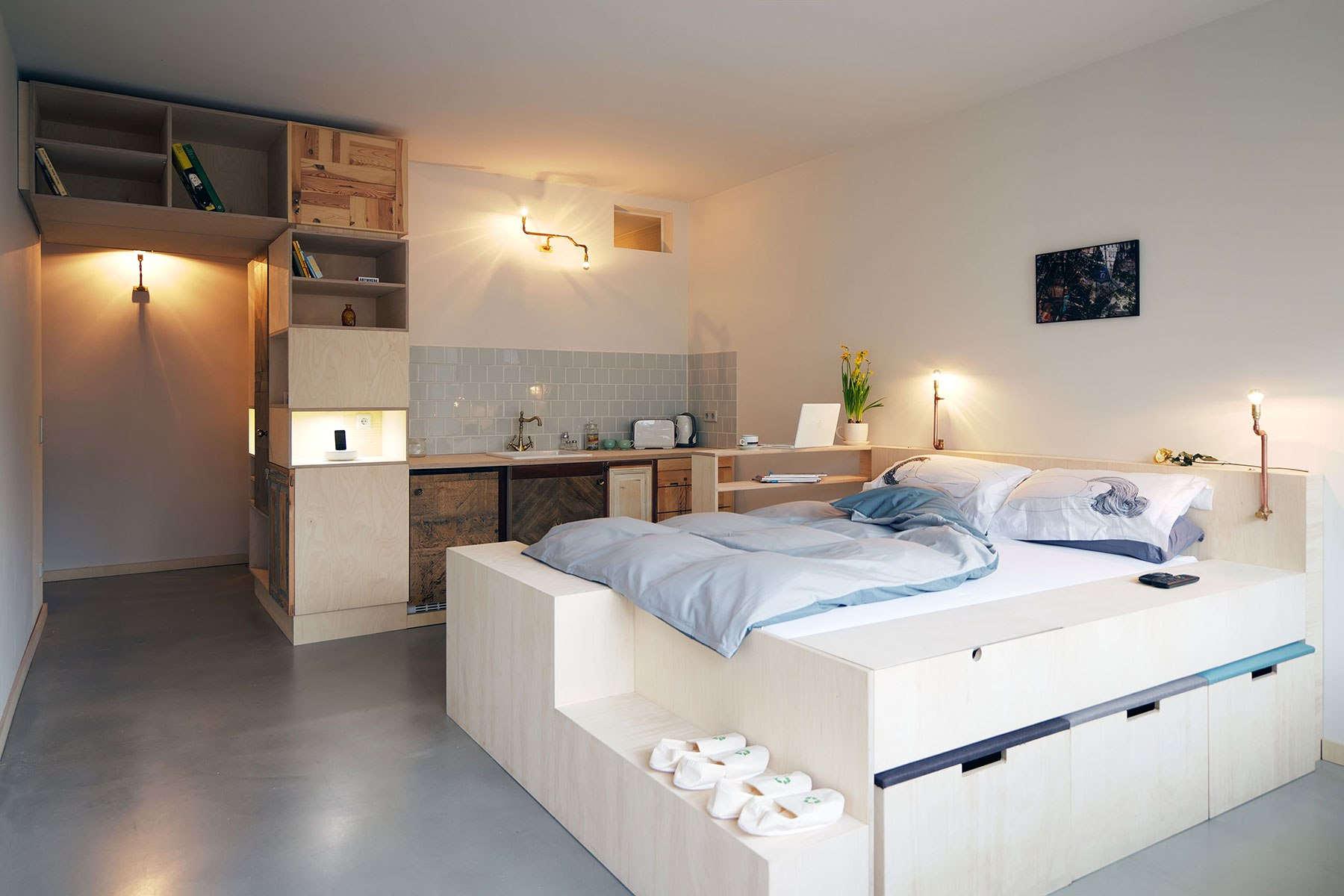 Гостевая квартира 30 м в Берлине.