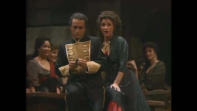 Carmen - Habanera. And the Amazing Singer is Agnes Baltsa.