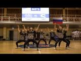 Танцевальный коллектив Mojito на матче ЮУрГУ-Челбаскет