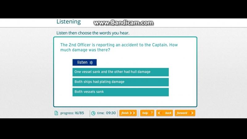 16 Кyрсы английского для моряков Eleon School . Marlins test