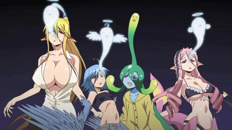 ★Повседневная жизнь с девушками монстрами [клип]★Monster Musume no Iru Nichijou [AMV]★Love of monsters★