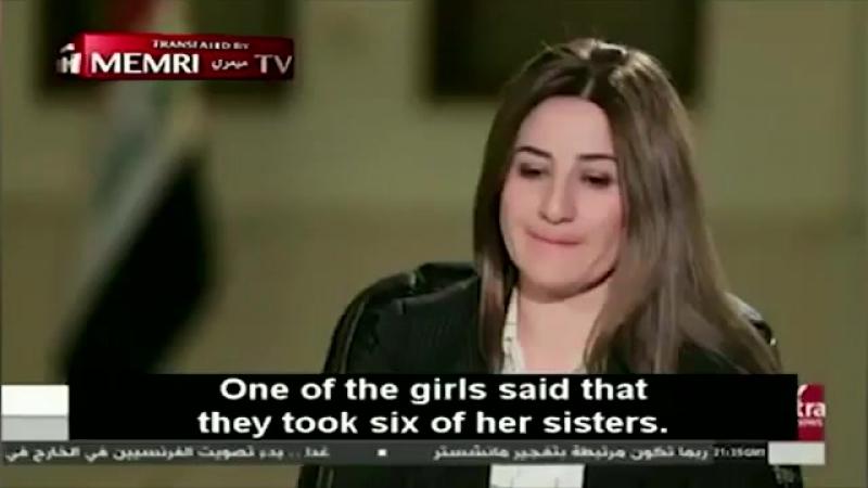 Рабыня ИГИЛ* рассказала, как боевики приготовили и заставили съесть ее младенца