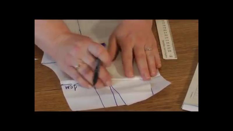Удлинение и укорачивание выкроек юбок и брюк