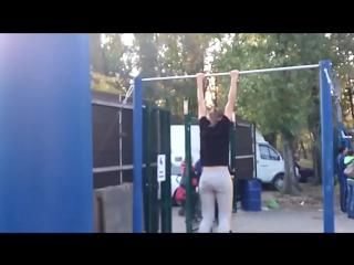 Галя Сидоренко _ Street workout girls _ Galina Sidorenko _ WSWC