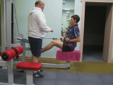 Персональная тренировка по набору мышечной массы с Романом Ишмухаметовым. Инструктор Сергей Таракин.