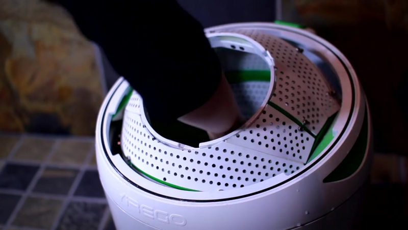 The Drumi Off Grid Foot Powered Washer _ YiREGO