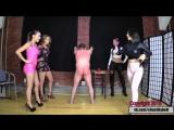 Alexa, Amadahy, Kendall и Sasha Fox устроили вечеринку с унижением раба