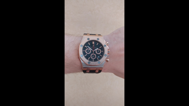 ЧАСЫ AUDEMARS PIGUET LEO MESSI ЗОЛОТО