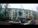 Бийчанин поднял грузовую газель на 4-й этаж жилого дома (Будни, 13.09.17г, Бийское телевидение)