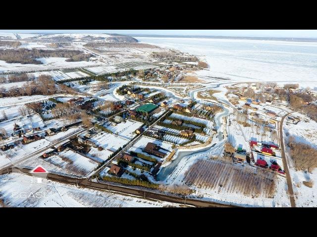 Село Теньки, Камско - Устьинский район, Республика Татарстан (Март 2017)