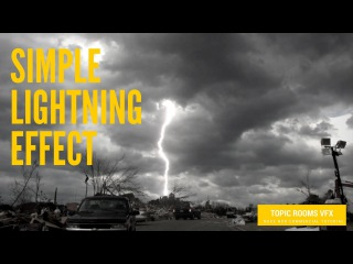 Nuke Tutorial - Create simple lightning
