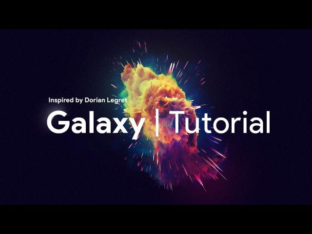Photoshop Tutorial | Abstract Galaxy by Swerve®
