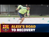 INSIDE VIEW Aleix Vidal rehabs following ankle injury