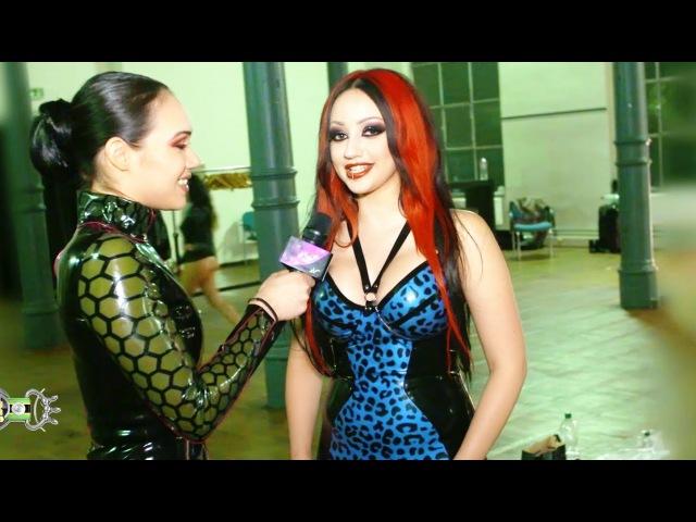 Dani Divine Pandora Deluxe Latex Fashion Show German Fetish Ball 2015