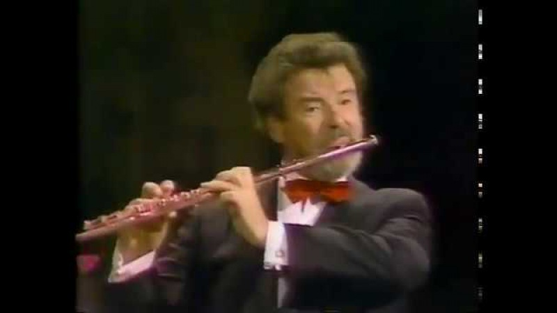 J. S. Bach, Air on a G String. Flautista James Galway