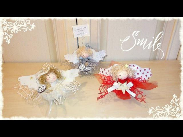 Speedy Angelina angioletto natalizio veloce senza cucire