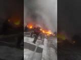Video: Turkish Airlines Cargo Plane Crashes Near Bishkek, Kyrgyzstan - (Site Of Crash)