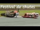 Crashes de motos roadsters dans la boue lolo cochet
