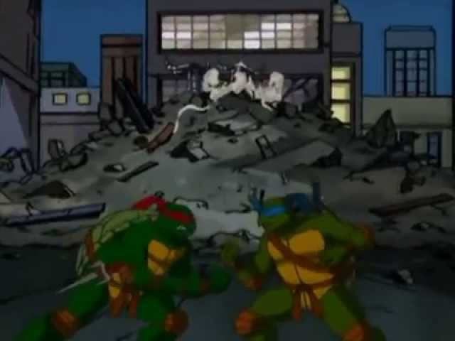 TMNT Leo and Raph, life´s too short