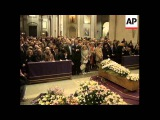 ITALY ROME FUNERAL OF EDDA CIANO, DAUGHTER OF BENITO MUSSOLINI