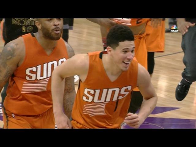 Devin Booker GAME-WINNER at the Buzzer | Suns vs Kings | February 3, 2017 | 2016-17 NBA Season