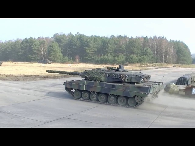 Leopard 2 is a main battle tank developed by Krauss-Maffei in the 1970s for the West German Army